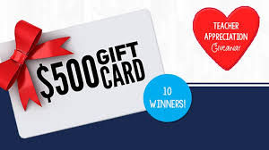 Enter to Win One of Ten $500 Walgreens Gift Cards