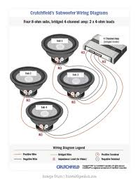 Speaker Ohm Chart 8 Ohm Sub Wiring Diagram Wiring Diagrams