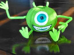 mike wazowski monsters inc craft diy