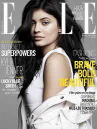 Elle Horoscopes Kylie Jenner On Elles February 2016 Cover