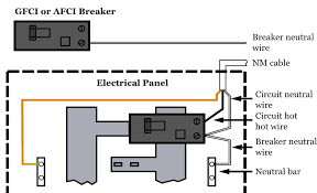gfci wiring diagram out ground wiring diagram and schematic wiring diagram gfci circuit breaker wiring diagrams for electrical receptacle outlets do it yourself