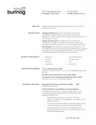 Cool Bartending Resume Format Ideas Professional Example