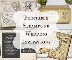 steampunk wedding invitations Gothic Wedding Invitations Templates printable steampunk wedding invitations gothic wedding invitations templates