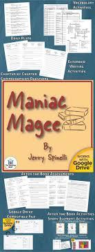 best maniac magee images maniac magee maniac magee novel study book unit
