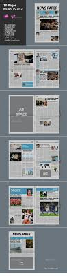 newsletter template for pages 115 best print newsletter templates images on pinterest print