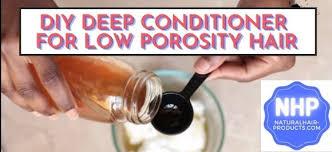 low porosity hair regimen