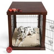 furniture denhaus wood dog crates. this wood dog crate is beautifully finished to look like furniture denhaus crates