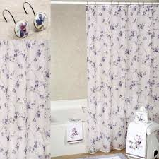purple shower curtains image perfect curtain interior of gray ruffle purple ruffle shower curtains72 shower