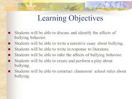no more bullies at my school ppt video online  5 learning objectives