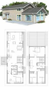 Small Four Bedroom House Plans 17 Best Images About Narrow House Plans On Pinterest House Plans
