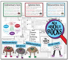 Rocks And Minerals Anchor Chart Rocks Rock Igneous Metamorphic Sedimentary The