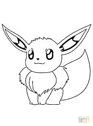 Pokemon Eevee Coloring Pages New Coloring Pages To Print For Kids