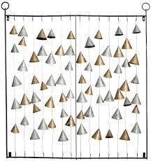 strung bells wall art decorist
