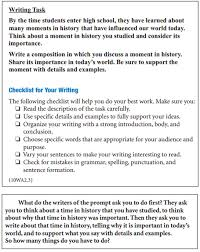 cahsee writing pre ap english  objective students will write a full length cahsee practice essay