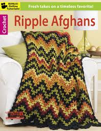 Ripple Afghan Pattern Simple Inspiration Ideas