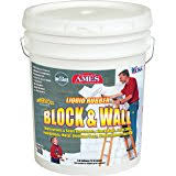 ames blue max. Ames Water Base High Strength Elastomeric Liquid Rubber, 5 Gallon White Blue Max N