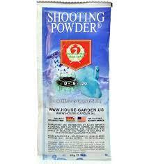 shooting powder by house garden 100g