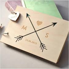 Sign Book For Wedding 2019 Custom Love Arrow Wedding Guest Book Engraved Wooden Guest Book Wedding Sign Book With Name Amp Date Personalized Gift For Wedding From