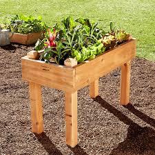 free standing raised garden beds designs