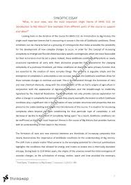 final synoptic essay mhis an introduction to big history  final synoptic essay