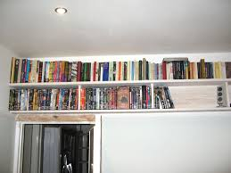shelves run wall to wall