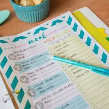Weekly Meal Planning For One My Solution To Meal Planning Free Weekly Meal Planner