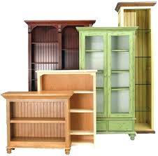 office bookcases with doors. Wood Bookcases With Doors Office Book Cases Furniture Unfinished Contemporary C