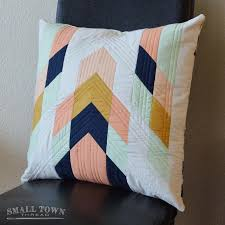 Best 25+ Quilted pillow ideas on Pinterest | Quilt pillow ... & DIY quilted bags · Looking for your next project? You're going to love  Modern Tribal Pillow Pattern Adamdwight.com