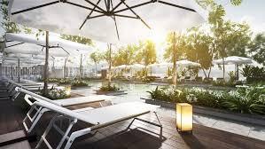apartment landscape design. Interior Design Lavanya Residences Langkawi Malaysia Landscape V2 Apartment
