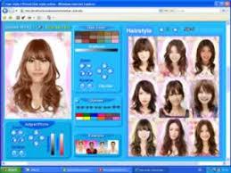 Hairstyle Simulator App hair style korean virtual hair style online 7511 by stevesalt.us