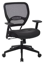 eco office chair. SPACE Seating Professional AirGrid Dark Back And Padded Black Eco Leather Seat, 2-to Office Chair