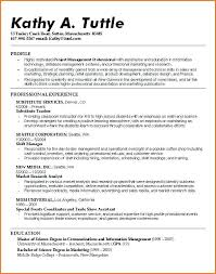 Resume For Recent College Grad Blaisewashere Com
