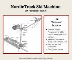 Nordictrack exp1000 treadmill user's manual. Nordictrack Ski Machine Models Nordictrack Pro Skier