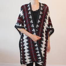 Crochet Ruana Pattern