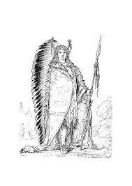 Kleurplaat Sioux Indiaan Afb 9420 Images