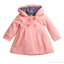 cute infant toddler baby girl winter warm wool blend pea coat snowsuit jacket outerwear clothes coats and jackets for kids black jackets for kids from