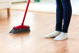 house cleaning floors best way to sweep hardwood dog hair off wood tip
