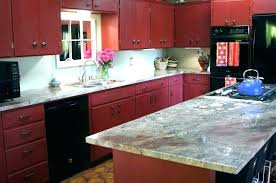 distressed red kitchen cabinets full size of painted rustic