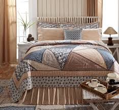 laketime cottage blues luxury quilt attractive patchworked hues of summer lake blue
