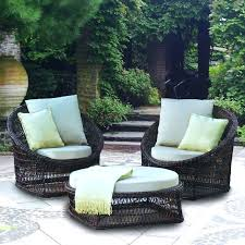 patio chairs cushions covers with outdoor enchanting replacement cushion set for the three piece wicker