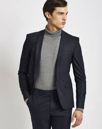 how to nail officewear for men the idle man the idle man suit jacket in skinny fit navy mens