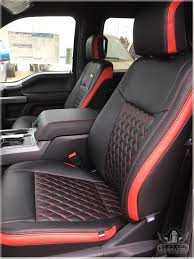 2020 ford f150 custom leather interiors