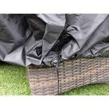 breathable garden furniture covers. 1.9m Garden Furniture Cover Breathable Quality Fitted Circular Round Table Rope Covers E