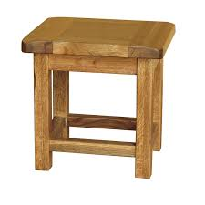 oak side table. Side Table. Country Oak Dining Table B