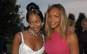 Naomi Campbell's 67 year-old mother, Valerie on raising the first black  supermodel – and baring her breast cancer scars