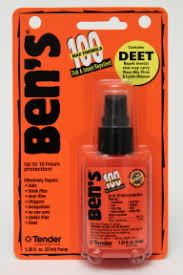 deet travel size bens 100 deet tick insect repellent spray travel size