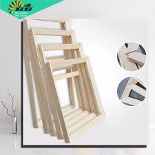 suit for all kinds of diy oil painting stretcher convex wood frame wall painting picture frame
