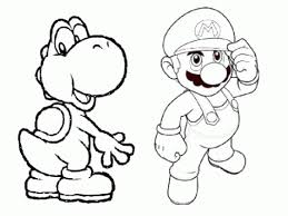 Yoshi Mario Brothers Coloring Pages Coloring Pages Coloring Pages