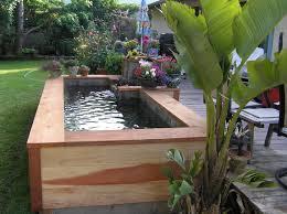 Small Picture Modren Diy Garden Pond Ideas Fish Observation Tower N For Design