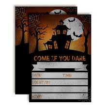 Halloween Invitations Cards Halloween Party Invitation Cards Diy Card Ideas